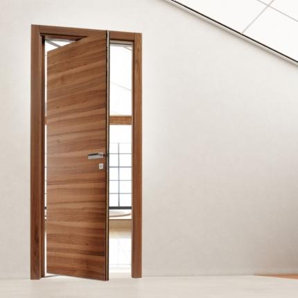 Porta da interno effetto legno