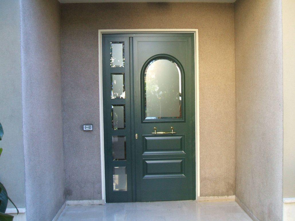 Porte da esterno in alluminio e pvc per privati serramenti cl - Porte in vetro da esterno ...