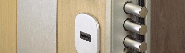 Dettaglio porta blindata per privati
